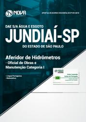 Apostila DAE de Jundiaí - SP - Aferidor de Hidrômetros, Oficial de Obras e Manutenção
