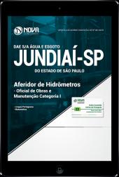 Download Apostila DAE de Jundiaí - SP - Aferidor de Hidrômetros, Oficial de Obras e Manutenção (PDF)