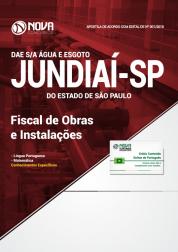 Apostila DAE de Jundiaí - SP - Fiscal de Obras e Instalações