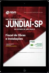 Download Apostila DAE de Jundiaí - SP - Fiscal de Obras e Instalações (PDF)