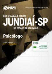 Apostila DAE de Jundiaí - SP - Psicólogo