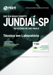 Apostila DAE de Jundiaí - SP - Técnico em Laboratório