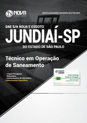 Apostila DAE de Jundiaí - SP - Técnico em Operação de Saneamento