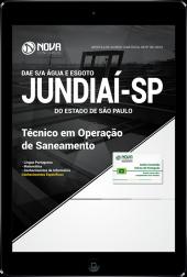 Download Apostila DAE de Jundiaí - SP - Técnico em Operação de Saneamento (PDF)