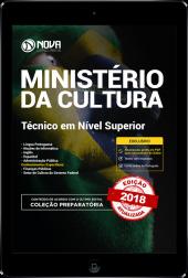 Download Apostila Ministério da Cultura - Técnico em Nível Superior (PDF)