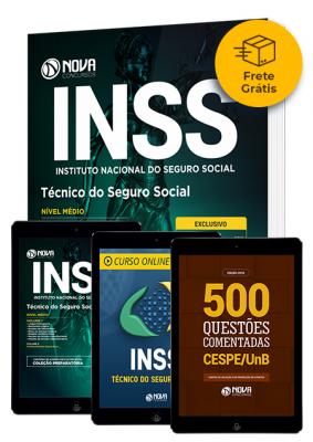 Kit Aprovação INSS - Técnico do Seguro Social (Frete Grátis)