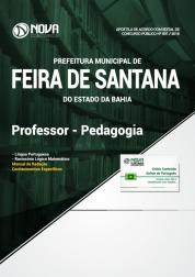 Apostila Prefeitura de Feira de Santana - BA - Professor - Pedagogia