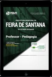 Download Apostila Prefeitura de Feira de Santana - BA - Professor - Pedagogia (PDF)