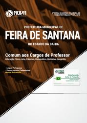 Apostila Prefeitura de Feira de Santana - BA - Comum aos Cargos de Professor
