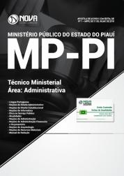Apostila MP-PI - Técnico Ministerial - Área: Administrativa