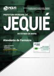 Apostila Prefeitura de Jequié - BA - Atendente de Farmácia