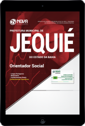 Download Apostila Prefeitura de Jequié - BA - Orientador Social (PDF)