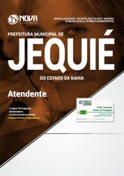 Apostila Prefeitura de Jequié - BA - Atendente