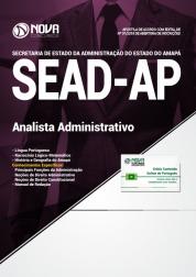 Apostila SEAD-AP - Analista Administrativo