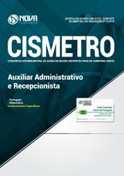 Apostila CISMETRO - SP - Auxiliar Administrativo e Recepcionista