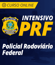 Curso Online Intensivo PRF - Policial Rodoviário Federal