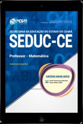 Download Apostila SEDUC-CE - Professor - Nível A - Especialidade: Matemática (PDF)