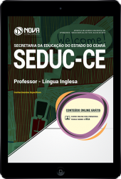Download Apostila SEDUC-CE - Professor - Nível A - Especialidade: Língua Inglesa (PDF)