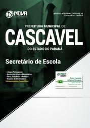 Apostila Prefeitura de Cascavel - PR - Secretário de Escola