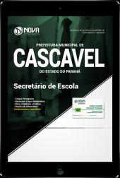 Download Apostila Prefeitura de Cascavel - PR - Secretário de Escola (PDF)