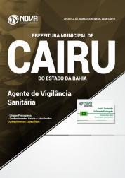 Apostila Prefeitura de Cairu - BA - Agente de Vigilância Sanitária