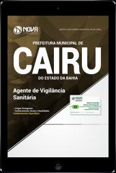 Download Apostila Prefeitura de Cairu - BA - Agente de Vigilância Sanitária (PDF)