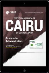 Download Apostila Prefeitura de Cairu - BA - Assistente Administrativo (PDF)