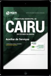 Download Apostila Prefeitura de Cairu - BA - Auxiliar de Serviços (PDF)
