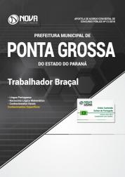 Apostila Prefeitura de Ponta Grossa - PR - Trabalhador Braçal