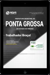 Download Apostila Prefeitura de Ponta Grossa - PR - Trabalhador Braçal (PDF)