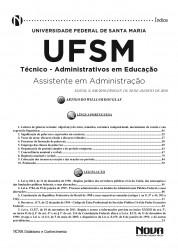 Apostila UFSM - Assistente em Administração