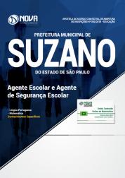 Apostila Prefeitura de Suzano - SP - Agente Escolar e Agente de Segurança Escolar