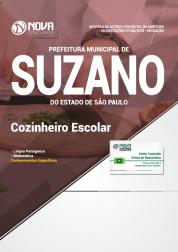 Apostila Prefeitura de Suzano - SP - Cozinheiro Escolar