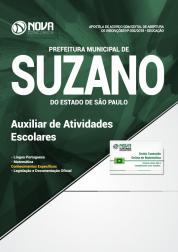 Apostila Prefeitura de Suzano - SP - Auxiliar de Atividades Escolares