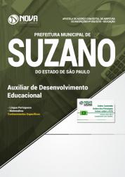 Apostila Prefeitura de Suzano - SP - Auxiliar de Desenvolvimento Educacional