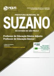 Apostila Prefeitura de Suzano - SP - Professor de Educação Básica Adjunto e Professor de Educação Básica I