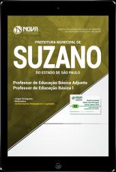Download Apostila Prefeitura de Suzano - SP - Professor de Educação Básica Adjunto e Professor de Educação Básica I (PDF)