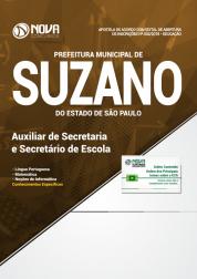 Apostila Prefeitura de Suzano - SP - Auxiliar de Secretaria e Secretário de Escola