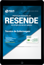 Download Apostila Prefeitura de Resende - RJ - Técnico de Enfermagem (PDF)