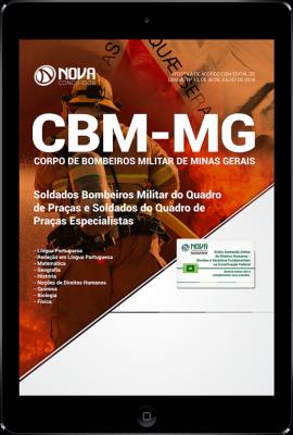 Download Apostila CBM-MG - Soldado Bombeiro Militar (Quadro de Praças e Quadro de Praças Especialistas) (PDF)