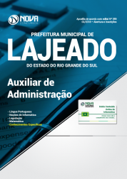 Apostila Prefeitura de Lajeado - RS - Auxiliar de Administração