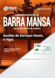 Apostila Câmara de Barra Mansa - RJ - Auxiliar de Serviços Gerais e Vigia