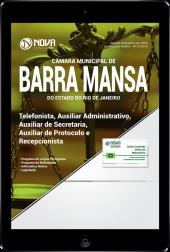 Download Apostila Câmara de Barra Mansa - RJ - Telefonista, Auxiliar Administrativo, Auxiliar de Secretaria, Auxiliar de Protocolo e Recepcionista (PDF)
