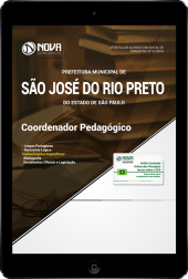 Download Apostila Prefeitura de São José do Rio Preto - SP - Coordenador Pedagógico (PDF)