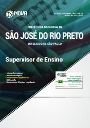 Apostila Prefeitura de São José do Rio Preto - SP - Supervisor de Ensino
