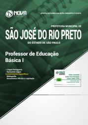 Apostila Prefeitura de São José do Rio Preto - SP - Professor de Educação Básica I