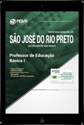 Download Apostila Prefeitura de São José do Rio Preto - SP - Professor de Educação Básica I (PDF)