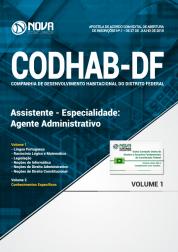Apostila CODHAB-DF - Assistente - Especialidade: Agente Administrativo
