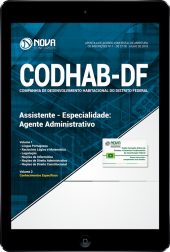 Download Apostila CODHAB-DF - Assistente - Especialidade: Agente Administrativo (PDF)