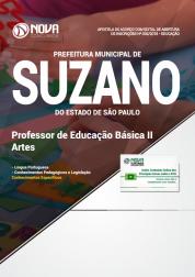 Apostila Prefeitura de Suzano - SP - Professor de Educação Básica II (Artes)
